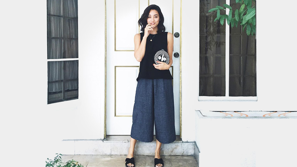 How To Rock Culottes Like A Stylish Celebrity