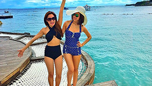 Liz And Laureen Uy's Not-so-secret Hideaway In Cebu