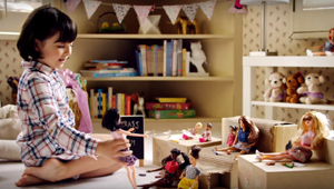 This Totally Cute Barbie Ad Has A Strong Message For Girls