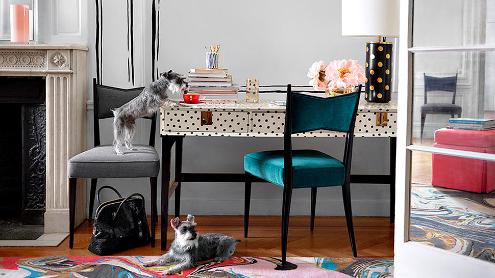 The Kate Spade Furniture Line Is Everything We Imagined And More!