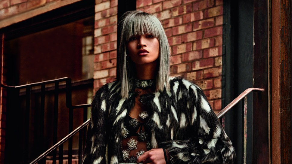Filipina Model Marga Esquivel Stars In Topshop's Holiday 2015 Campaign