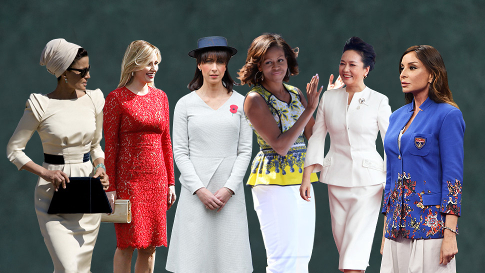 The 6 Most Stylish First Ladies of the World