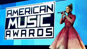 Jennifer Lopez Wears Michael Cinco At The 2015 Amas