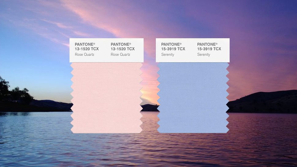 Rose Quartz And Serenity Are The 2016 Colors Of The Year