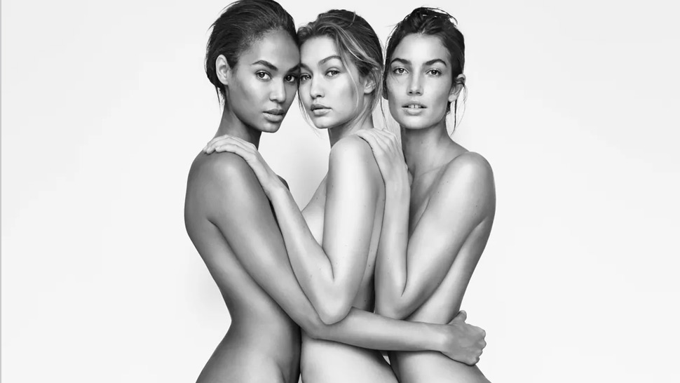 Joan Smalls, Gigi Hadid and Lily Aldridge Pose Naked for a Shoe Brand's Ad Campaign