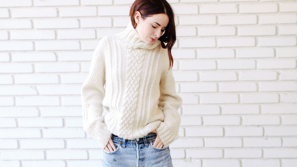 5 Ways To Style Your Sweater, According To This Week's Top Blogger Ootds