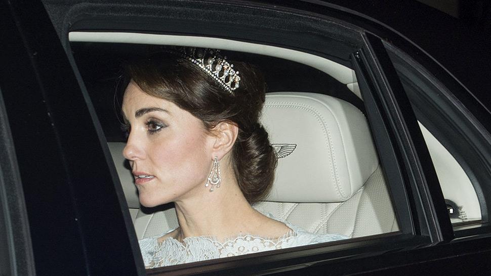 Spotted: Duchess Kate Middleton Wearing Princess Diana's Tiara
