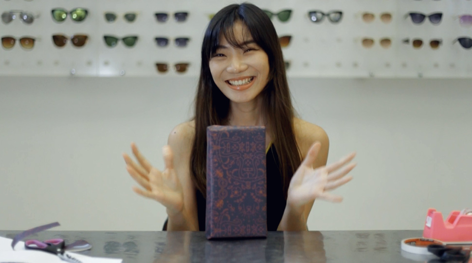 WATCH: The Girls of Sunnies Studios Take On Our Gift-Wrapping Challenge