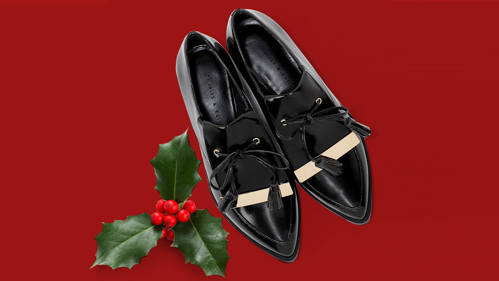 How to Get Away with Wearing Flats to All Your Holiday Parties