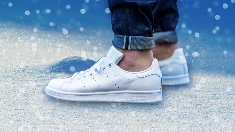 The All-white Adidas Stan Smith Is Love