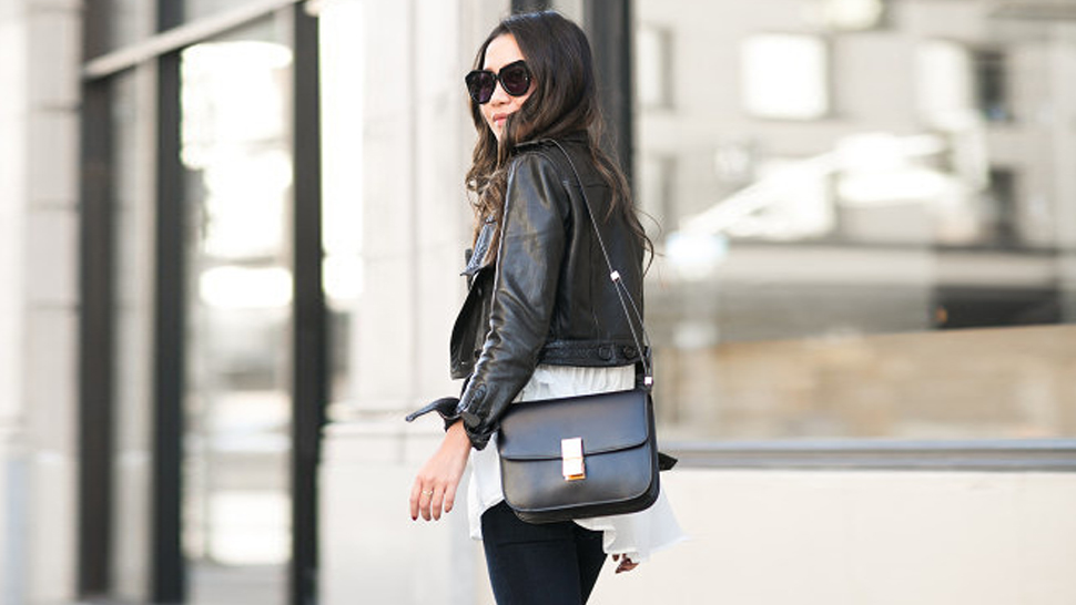 5 Ways To Style A Leather Jacket, Inspired By Wendy Nguyen