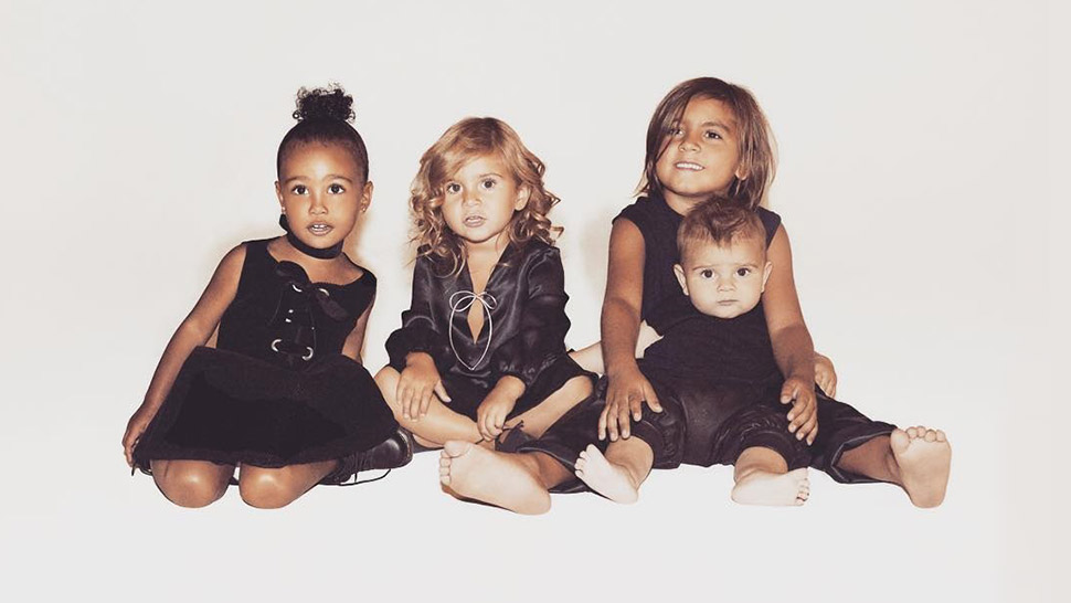 Kim Kardashian Shares First Photo Of Saint West