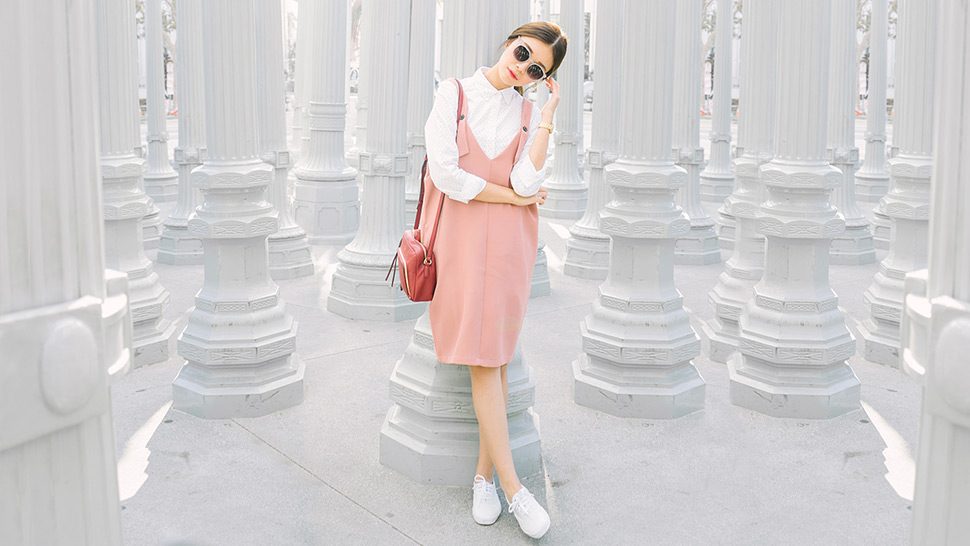 How To Wear Rose Quartz And Serenity, According To This Week's Top Blogger Ootds