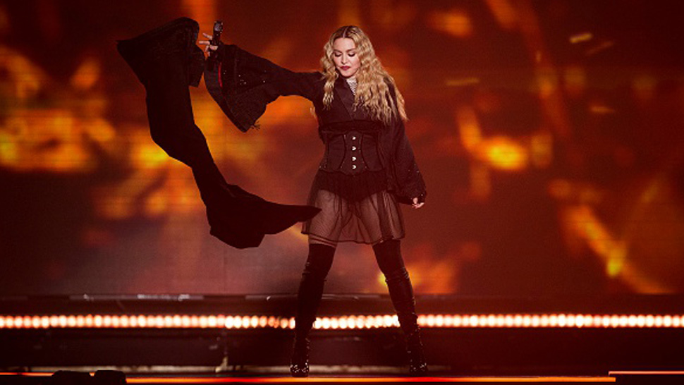 Madonna Denies Arriving Late and Drunk to Her Concert