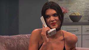 Kendall Jenner Pranks Kim Kardashian, Says She's Pregnant