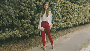 How To Look Chic In Trousers, According To This Week's Top Blogger Ootds