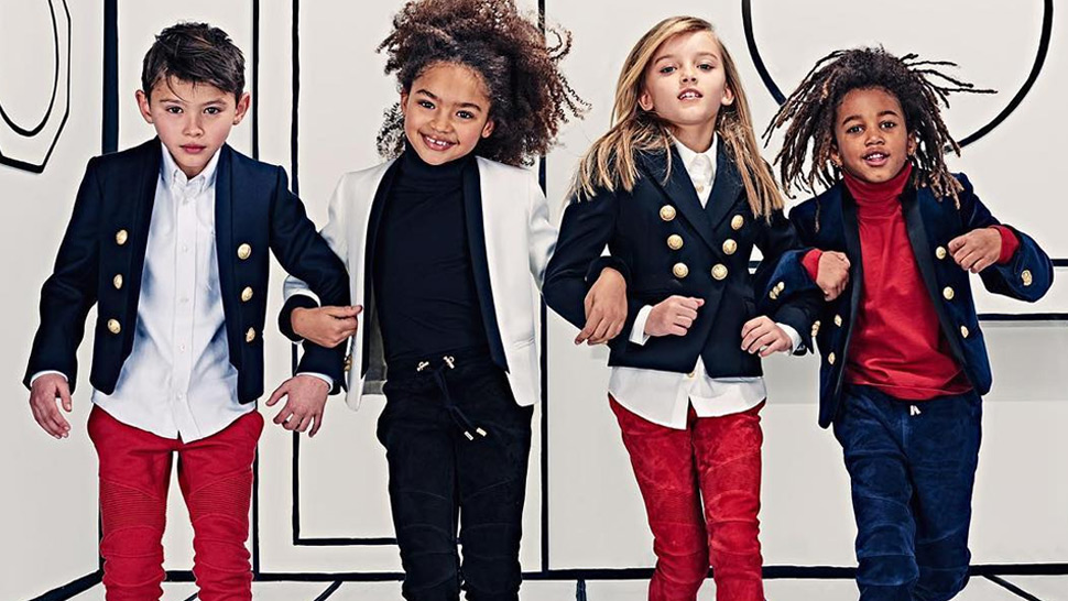 Balmain Is Launching a Children's Line