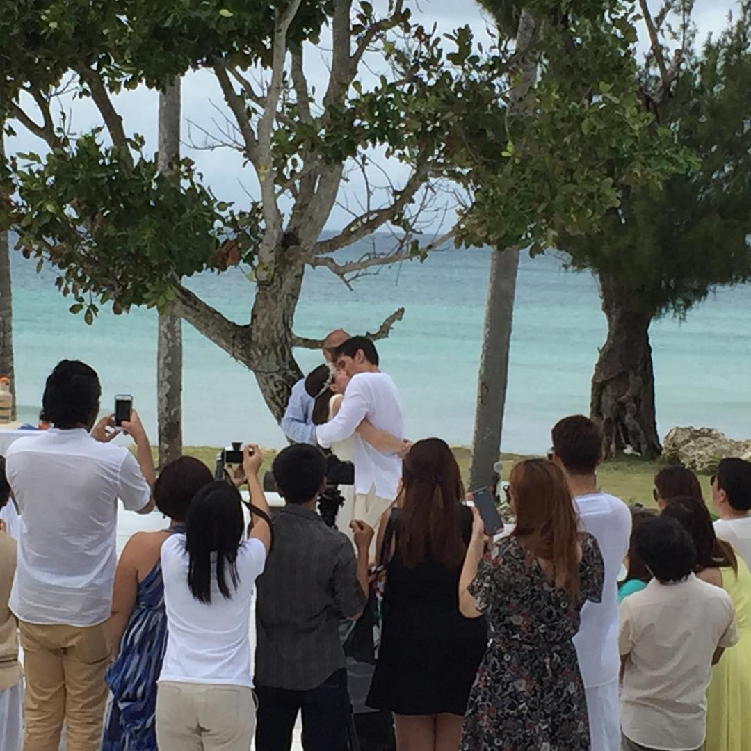 Cristine Reyes And Ali Khatibi Tie The Knot In A Simple