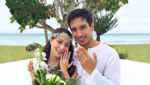 Cristine Reyes And Ali Khatibi Tie The Knot In A Simple Wedding Ceremony
