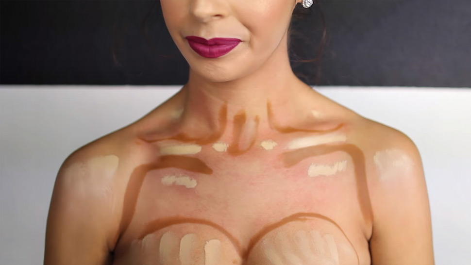 Is Boob Contouring The Next Big Makeup Trend?