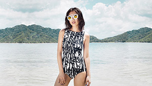 50 Photos Of Celebrities Rocking Their One-piece Swimsuits