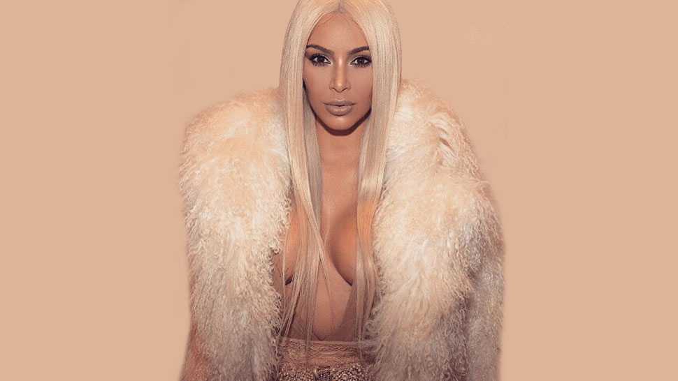 Kim Kardashian is Blonde (Yet Again!)