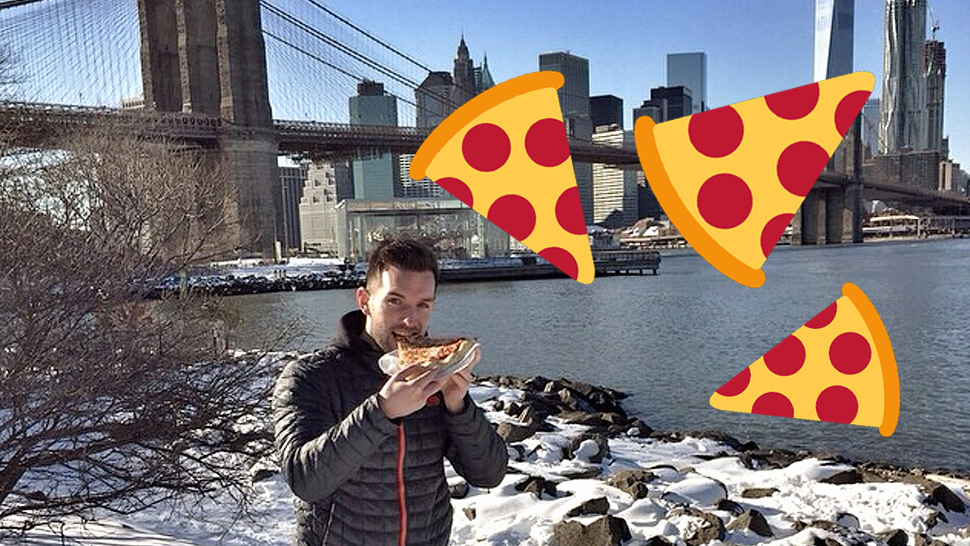 This Guy Travels Around the World Eating Pizza