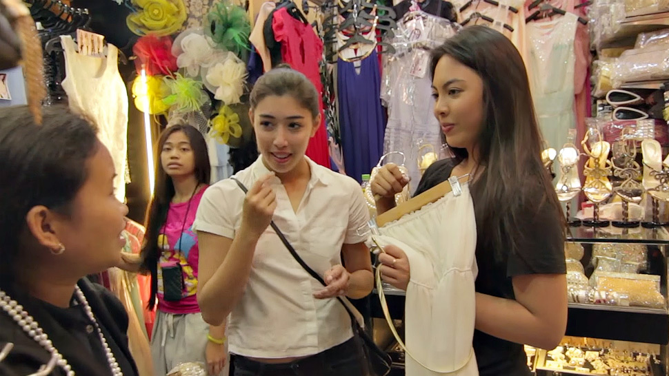 Watch: Dominique Cojuangco Goes Shopping In Divisoria For The First Time