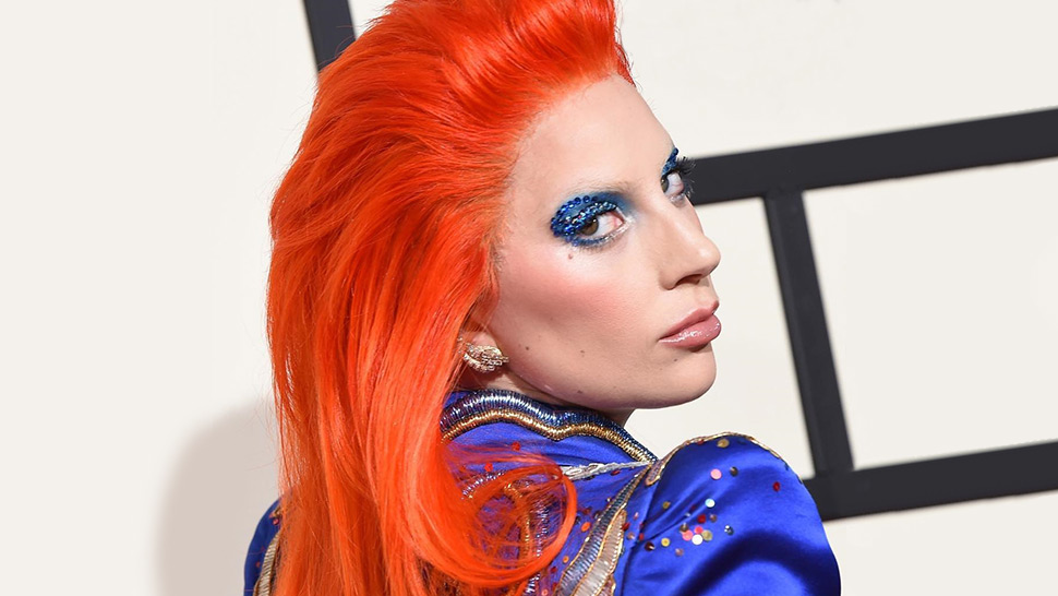 Lady Gaga Makes a Serious Case for Blue Eyeshadow
