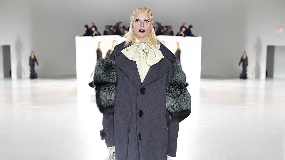 Lady Gaga Makes Her Marc Jacobs Runway Debut