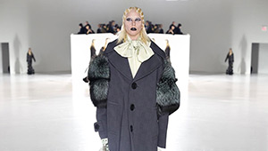 Lady Gaga Makes Her Marc Jacobs Runway Debut