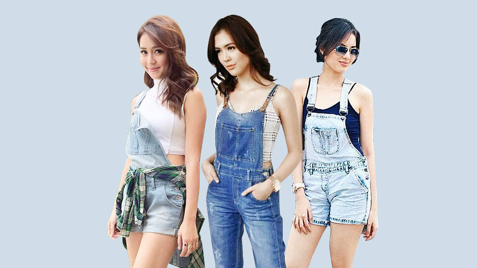 How to Wear Denim Overalls in 2016