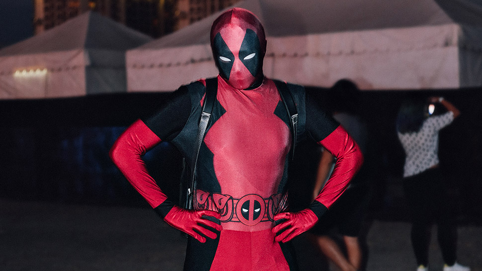 We Spotted Deadpool Hanging Out With Celebrities At The Goodvybes Music Festival