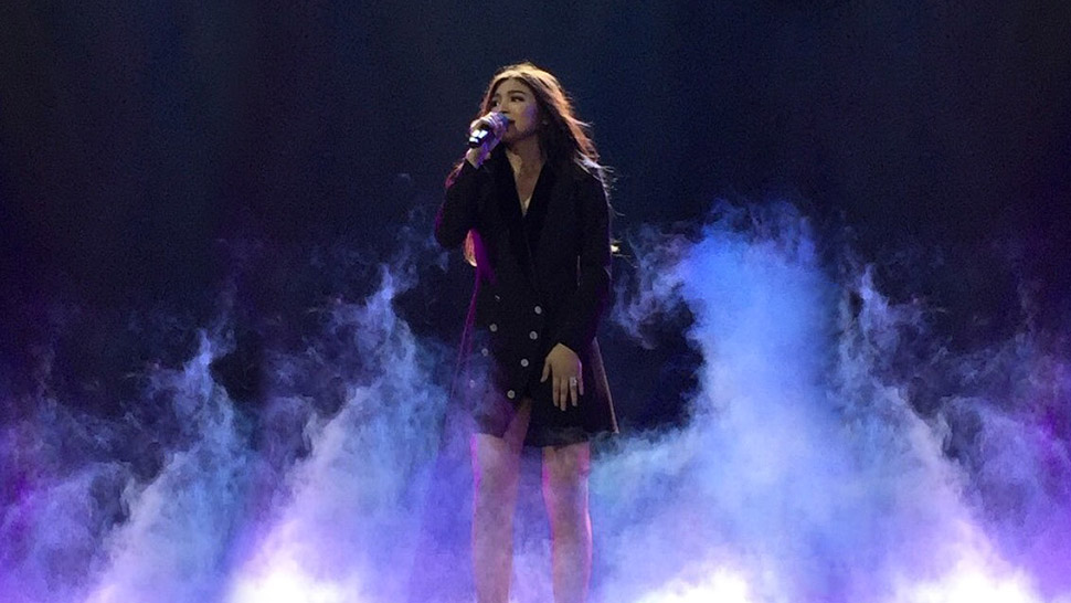 SEE: All of Nadine Lustre's Looks at the 'JaDine in Love' Concert