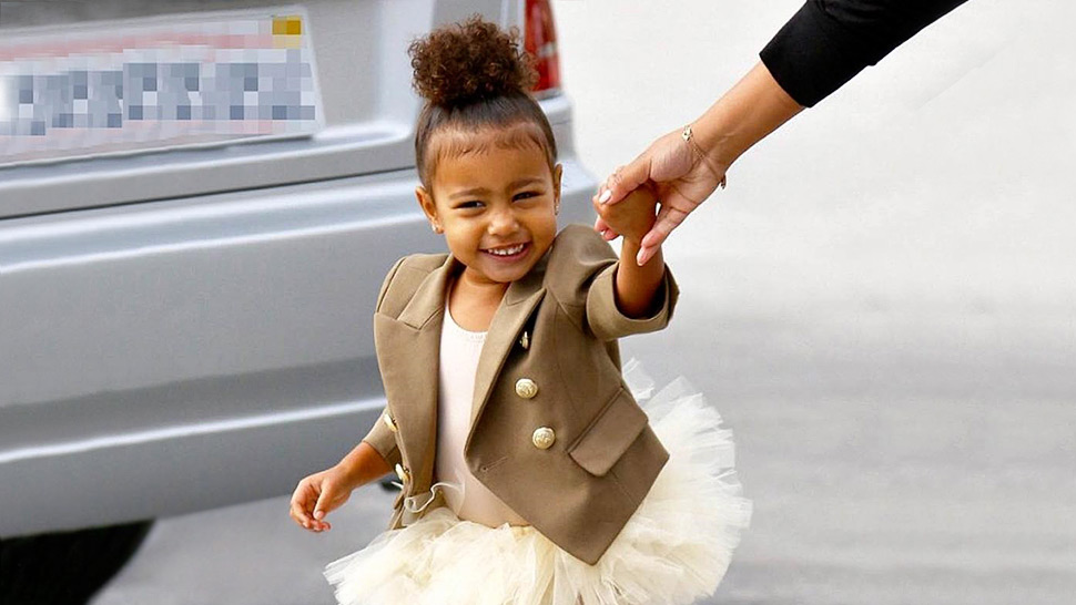 North West Gives Contouring a Go