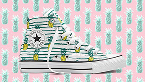 These Pineapple-printed Chucks Are Your New Summer Sneakers