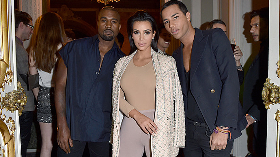 Kanye West Claims Balmain F/w 2016 Was Inspired By Kim Kardashian