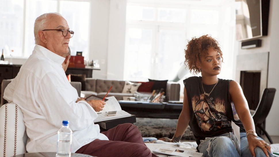 Rihanna Is Launching A Denim Shoe Collection With Manolo Blahnik