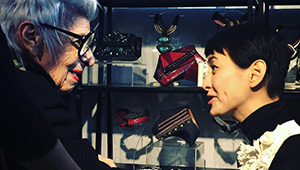 Bea Valdes And Joanique Get Surprise Visits From Iris Apfel