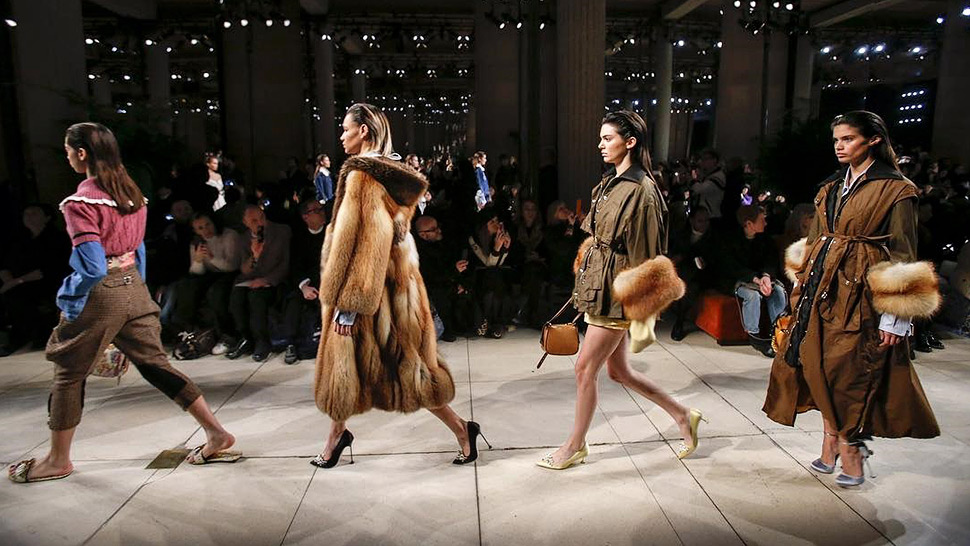 Filipina Models Walk For Louis Vuitton And Miu Miu