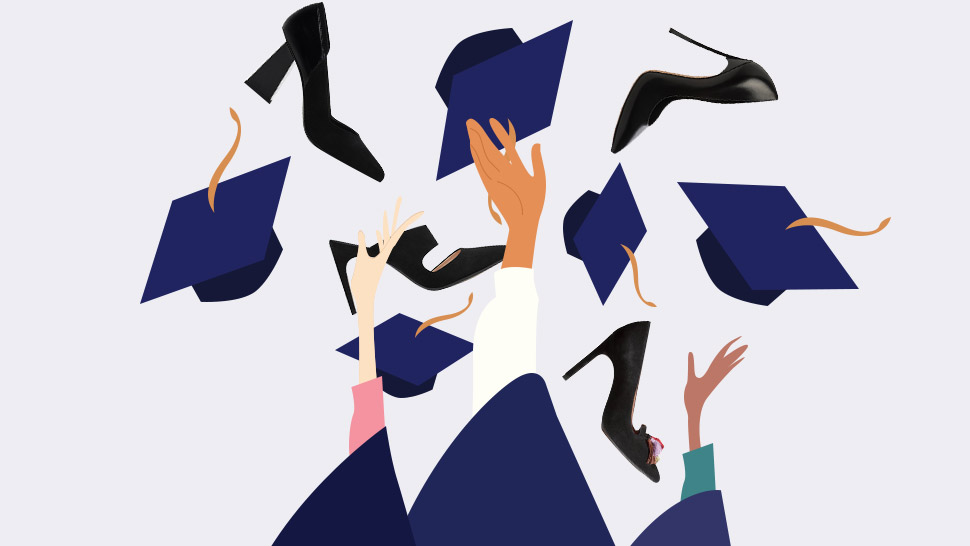 17 Pairs Of Black Shoes To Wear For Graduation