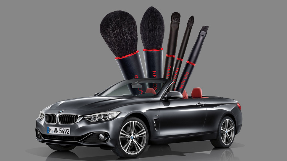 BMW Collaborates with Revlon to Design New Line of Makeup Brushes