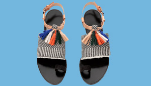 20 Flirty And Fringed Sandals For The Summer