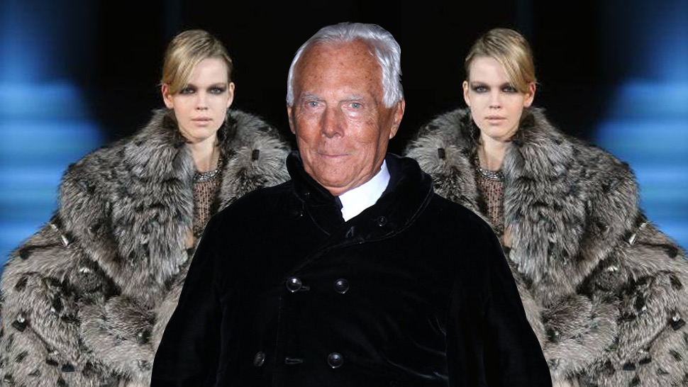 Armani Goes Fur Free