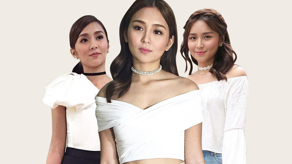 7 Times Kathryn Bernardo Rocked The Choker Trend