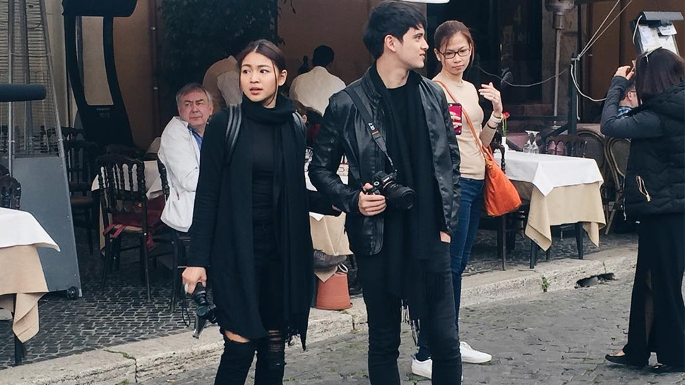 All The Matchy Matchy Outfits Nadine Lustre And James Reid Wore In Europe
