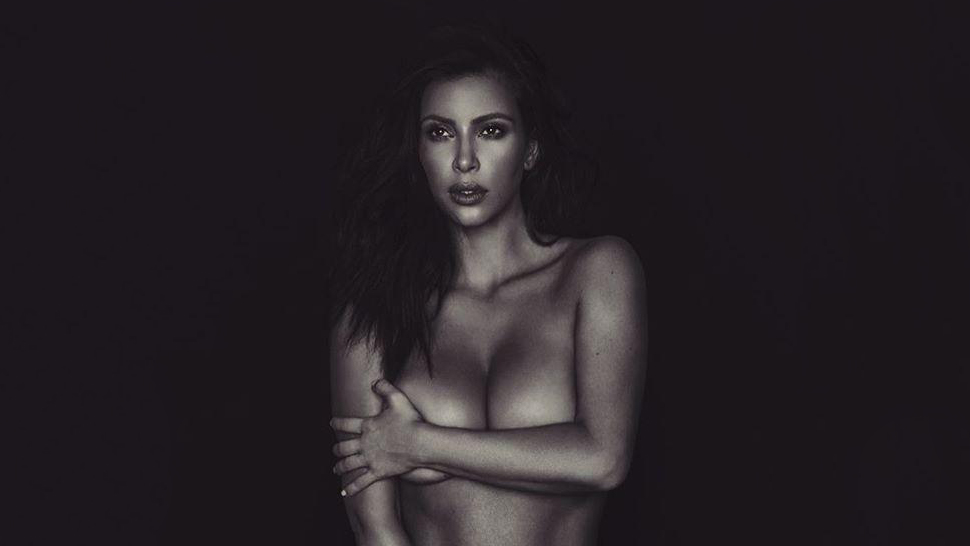 Kim Kardashian And Emily Ratajkowski Pose Topless On Instagram