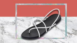 The Sleekest Rubber Sandals You'll Ever Sport