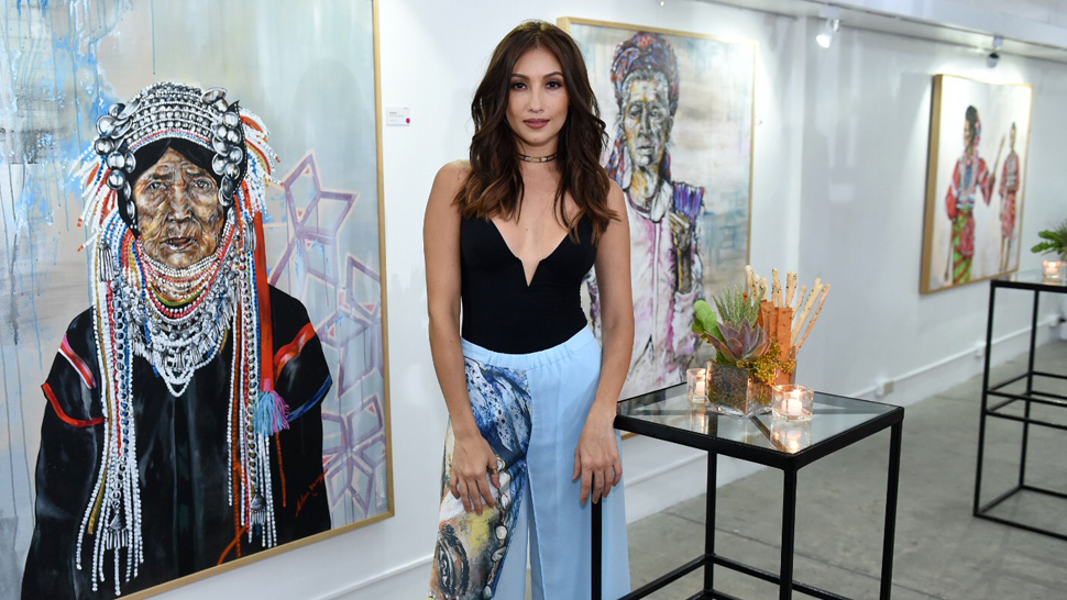 Solenn Heussaff Holds Her First-ever Solo Art Exhibit