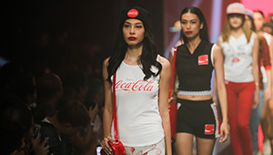 Coca Cola Red Label At Manila Fashion Festival